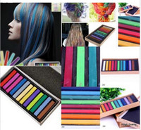 Wholesale Top Quality Colors Hair Chalk Temporary Dye Kit