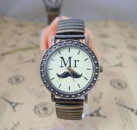 Cheap TOP Brand japan movement watch Vintage Style Women dress Bracelet Elastic watches MR high quality Wristwatch E-3