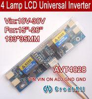 Wholesale AVT4028 PC LCD MONITOR CCFL LAMP universal lcd inverter board Lamp V V For quot screen