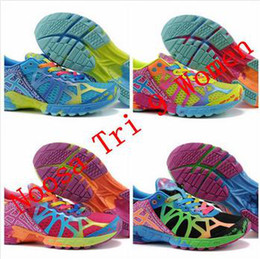 Wholesale 2014 GEL Running Shoes for women and Men girl Ourdoor casual Shoes brand Noosa tri woman man athletic shoes