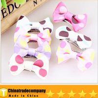 Wholesale Good Pet Headdress Flowerr Pet Accessories Wave Point Multicolor VIP Teddy Beautiful Handmade Necessary