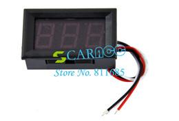 Wholesale Red LED Panel Mini Digital Voltmeter Meter DC V Measurement Range TK0602