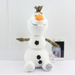Wholesale 5pcs set CM inch Cartoon Frozen plush Frozen Olaf Plush Olaf plush Toys Frozen figures