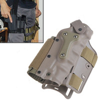 plastic flashlight - Adjustable Plastic Tactical Puttee Thigh Pistol Flashlight Holster Leg Gun Pouch with Quick Release Buckle