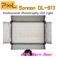 Wholesale Pixel Sonnon DL LED Wireless Group Control Brightness Adjustment LED Light Panel with Barn door Barndoor
