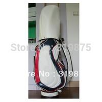 Wholesale New style stand bag Hot sale TL golf club bag PU waterproof golf cart bag Freeshipping
