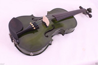Wholesale 16 quot dark green string Electric Acoustic viola High quality A black color quot