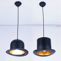 Cheap Free shipping wholesale 2pcs lot 85-265V aluminum modern chandelier Square&Round hat chandelier black shell led lamp