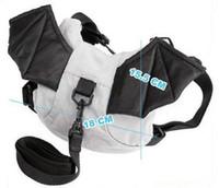 Wholesale 80pcs nursery baby backpack bag boys girls bat shape cartoon bag Baby Anti lost tape Anti lost bag Tide cute