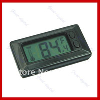 Wholesale New Wall Car Indoor Hygrometer LCD Digital Temperature Thermometer
