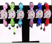 african items - NEW Item Mix Colors Hello kitty bracelet Shamballa bracelet Children Jewelry