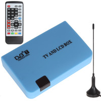 Cheap Digital DVB-T Stand-alone TV LCD & CRT Box Tuner Free View Recorder Receiver