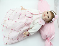 Cheap Reborn baby silicone reborn dolls 55cm Lifelike reborn baby reborn baby the doll toys for girl