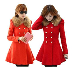 Ladies Double Breasted Red Coats Online | Ladies Double Breasted ...