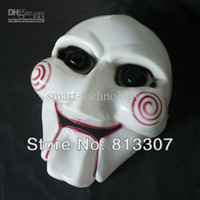 Wholesale Jigsaw Mask Saw Puppet Mask Perfect Halloween Party Mask