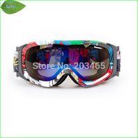 Wholesale FG06 New brand UV protection Ski Goggles Double Lens Anti fog Professional Snowboard Ski Glasses
