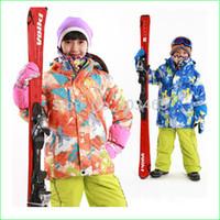 Wholesale New Brand KC02N Winter Children Ski Jacket Children Winter Sportwear Coat Waterproof Snowing Kids jacket