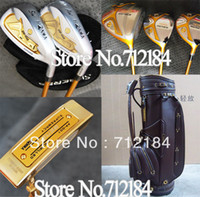 Wholesale 2013 New Golf Clubs HONMA Beres s Woods irons putter Golf bag Graphite shaft Complete Clubs Sets