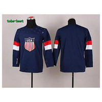 Cheap Wholesale Youth 2014 Sochi Winter Olympics Team USA BLANK Red Ladies Ice Hockey Jersey size S M,L XL