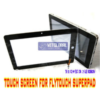 Wholesale 5mm Outer Glass Touch Screen Replacement Screen Film For quot Flytouch Superpad ePad Tablet