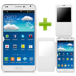 Wholesale 2014 New Hot Sale Unlocked quot G GPS Dual Sim Android Smart Cell Phone AT T T mobile Straight Talk