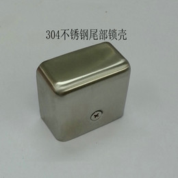 Wholesale Demi stainless steel fire door fire door rear tail decorative cover stainless steel buckle clasp