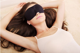 Wholesale New styles Sponge D Sleeping Eye Mask Shade Nap Cover Blindfold Sleeping Eyeshade Rest