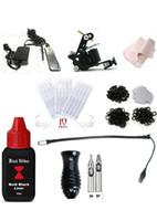 1 Gun starter beginner - Pro Entry Tattoo kit Tattoo Machine kit Equipment Set Starter Tattoo Gun Kit Guns Supply Body Art