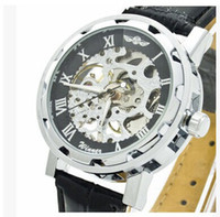Wholesale New watches Details about Lowest Price New Luxury Automatic Mechanical Skeleton Gold Men s Wrist Watch