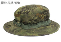 animal hat patterns - Tactical Mandrake Boonie Hat Kryptek Pattern US Military Rip stop Cap Hat for Camping Hiking Hunting Rattlesnake Combat Airsoft