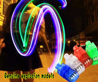 Wholesale Factory Low price x Color LED Laser Finger Ring Beams Light Party Lamp funny gift