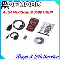 Wholesale Hot sales Autel MaxiScan ms509 code scanner reader obd2 car diagnostic tool MS OBD2 diagnostic tool