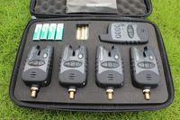 Wholesale Europe Most Popular JY Waterproof Wireless LED Indication Carp Fishing Bite Alarm Set alarms receiver