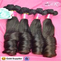 russian hair - 8A Grade Fumi Hair Extensions Unprocessed Russian Hair Weaves Natural Black Hair Extensions Hot Sale