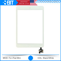 Cheap Original LCD Display Touch Screen Digitizer Assembly for iPad Mini with IC Connector & Home Button Flex 3