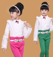 2014 Autumn Fashion Big Girls Long Sleeve Clothing Childs Ou...
