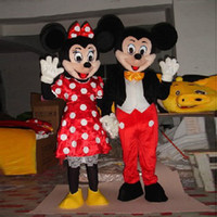 Wholesale Mouse Adult Mascot Cartoon Costume Fancy Clothing