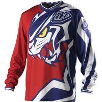 uv t-shirt - 2014 Hot sale TLD TLD Jersey Predator MX MTB BMX Offroad Cycling Bicycle Bike Sports Jersey Moto Clothing Motorcycle T shirts