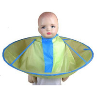 Polyester hair cutting cape - baby kid children umbrella hair cutting cape waterproof smooth