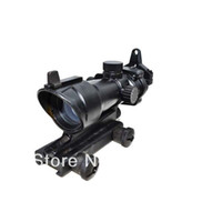 acog type - ACOG Type x32 Red Green Dot Sight Scope With QD Mount for hunting Rifle Scope HOT