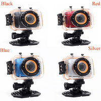Wholesale Hot Waterproof P quot Touch Screen Mini Sports Helmet DV Riding Diving DV m HDMI Output PC Camera Degree Wide angle Lens Q2030