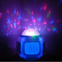 Wholesale LED Light Projection Alarm Clock