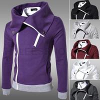 Wholesale Tops new hot mens jackets cotton outwear men s coats casual fit style designer fashion jacket colors M XXL