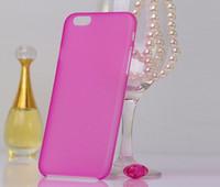 Горячий продавать Супер тонкий Тонкий матовый матовый Прозрачный Clear Мягкий PP крышка случая кожи для iPhone 5 6 6 плюс Samsung S6 S6 Край