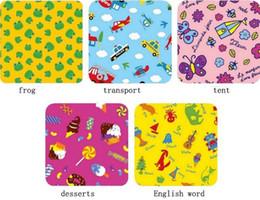 Wholesale Fashion Hot Picnic Mat Large Size Baby Climbing Mats Children s Play Mats Portable Beach Mats Folded Small Cartoon Design