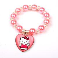 Wholesale Hello kitty new fashion cute Hello Kitty children s bracelet jewelry trade selling