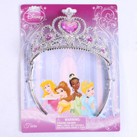 Wholesale Children Crown Princess Tangled Cinderella SANDY style birthday party gift shelf