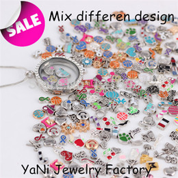 Wholesale-2014 Free shipping Mix floating charms ,living Glass Locket Charm fit lockets HM#04