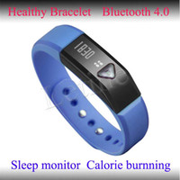 Cheap Bluetooth Healthy Bracelet With Calorie Counter, Stopwatch, Sleep Monitor And Pedometer For Cell Phone Android 4.3 IOS Cheap Wholesale 2014