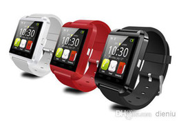Wholesale U8 Smart Watch Bluetooth watch Phone Mate U Watch Wrist for Android phone iPhone S S for Samsung S4 S5 Note Note